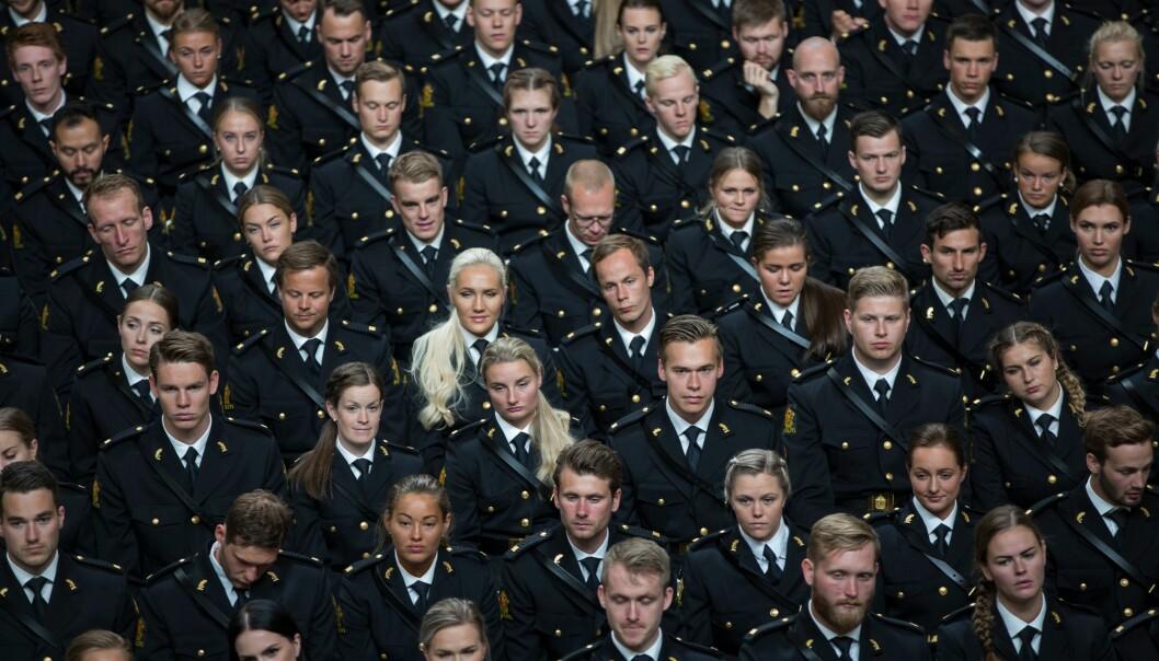 Nyutdannede i Oslo rådhus.