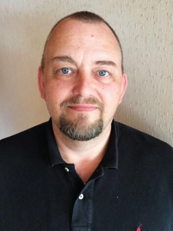 Lokallagsleder Jon E. Torp i Politiets Fellesforbund (PF) Sør-Øs