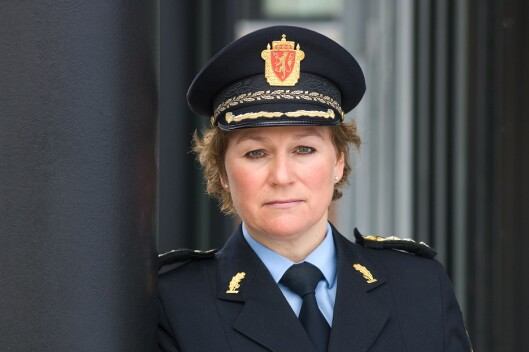 Christine Fossen, politimester i Sør-Øst politidistrikt.