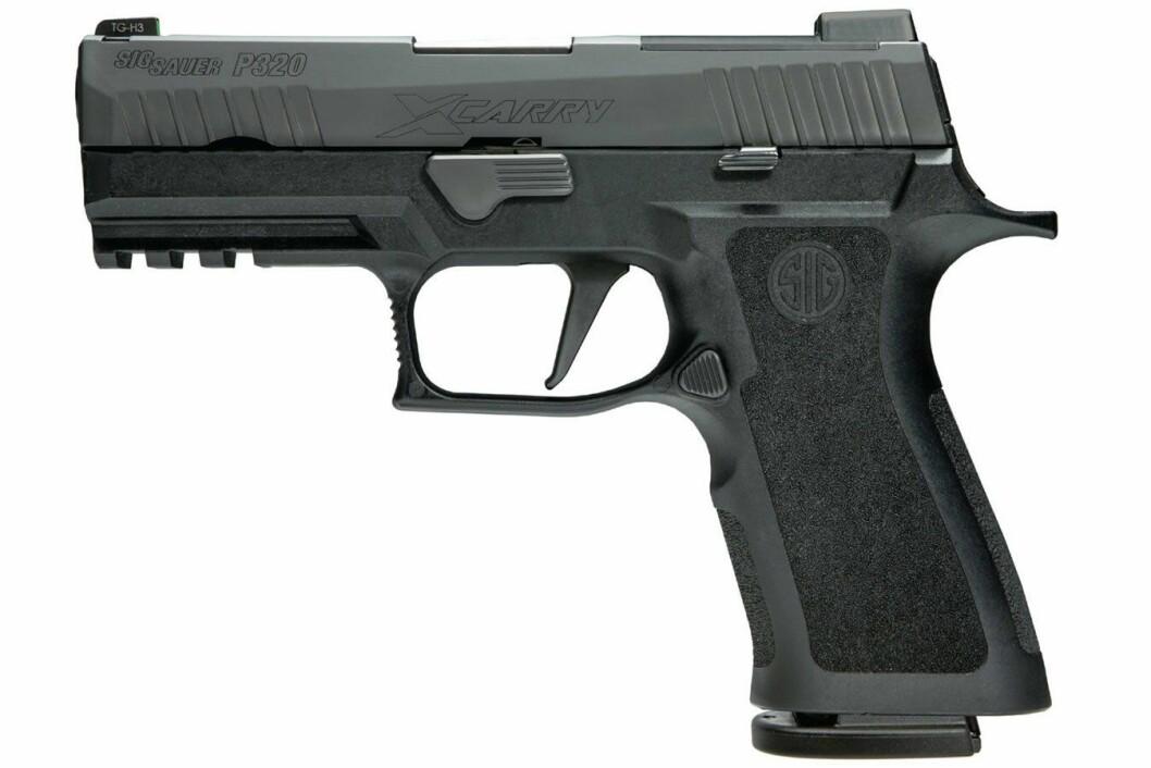 Sig Sauer P320-X, beredskapstroppens nye pistol.