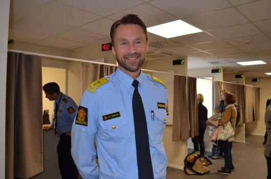 Politimester i Øst politidistrikt, Steven Hasseldal.