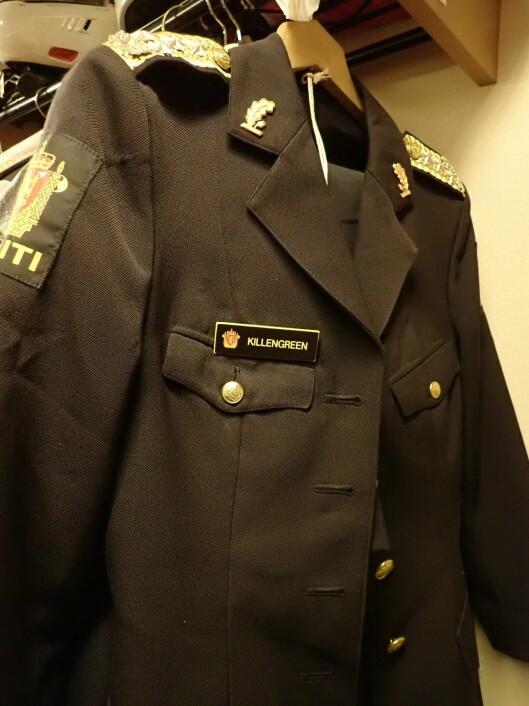 Ingelin Killengreens politidirektøruniform