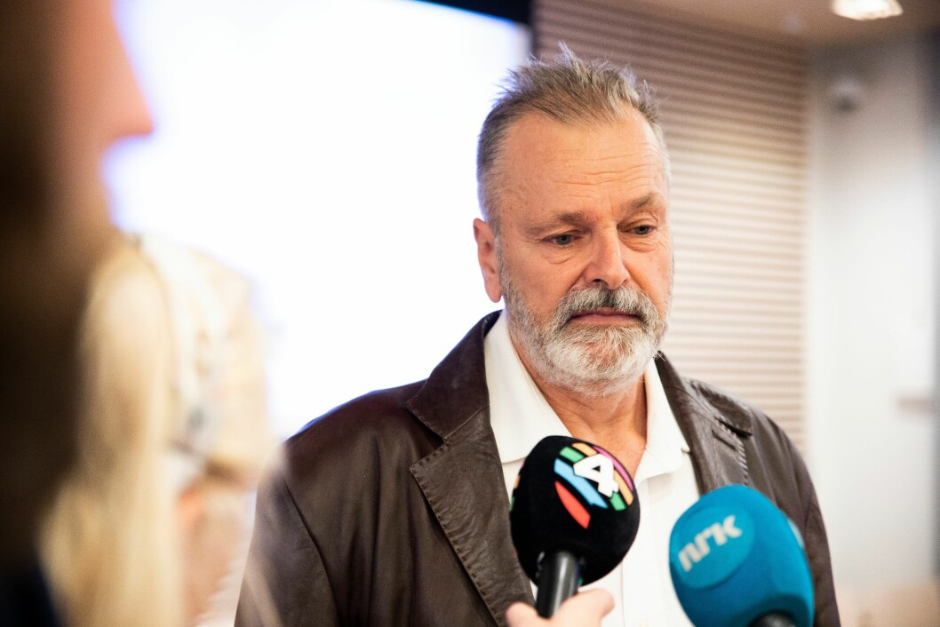 Eirik Jensen i rettsalen.