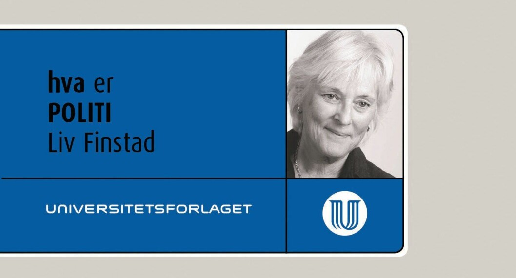 Liv Finstads bok - Hva er politi