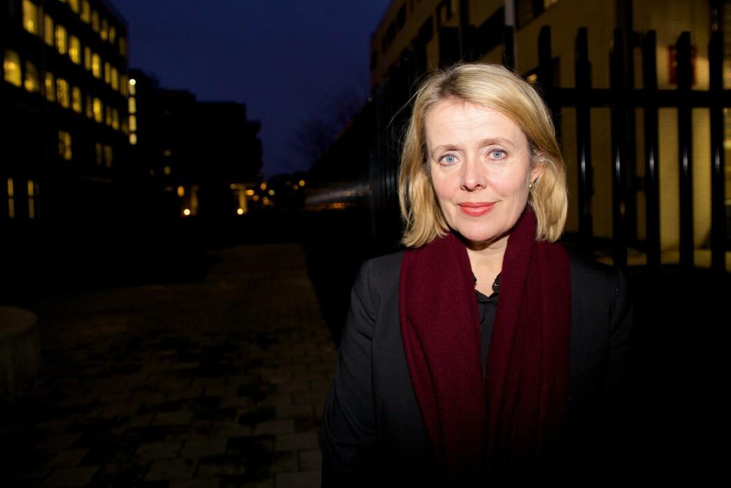 UTLØYST: PST-sjef Benedicte Bjørnland blir ny direktør i Politidirektoratet. Nå er stillingen som leder for PST utlyst.