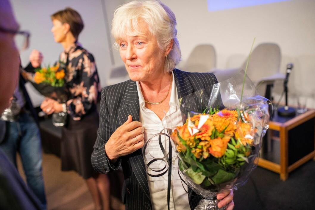 Forfatteren: Liv Finstad har gitt ut ny bok, der hun forsøker å gi svar på hva politi egentlig er for noe.