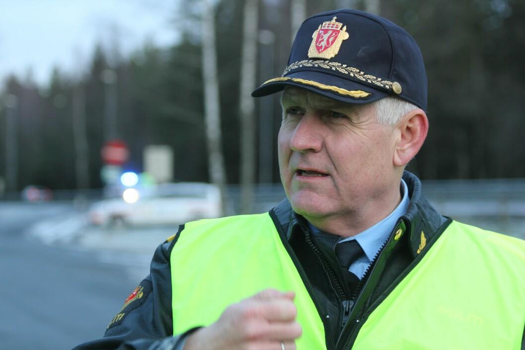 UP-sjef Runar Karlsen ber alle som er usikre på om de har promille eller ikke, om å la bilen stå.