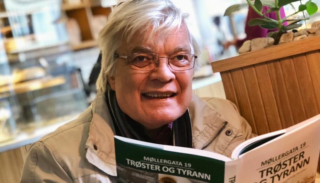 Politiforfatter: Jørn-Kr. Jørgensen har skrevet bok om Oslos berømte og beryktede tidligere hovedpolitistasjon i Møllergata 19.