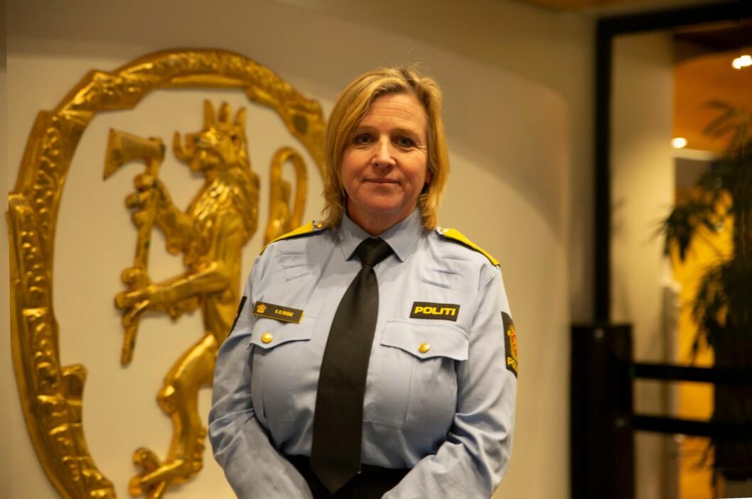 POLITIREFORM: Kristin Kvigne, assisterende direktør i Politidirektoratet, sier de vil se på forskernes anbefalinger i forbindelse med politireformen.