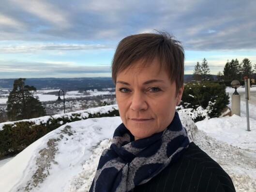 KRITISK: Linda Verdal ved Politiets Fellesforbund, har selv tjenestegjort for både Forsvaret og politiet i utlandet.