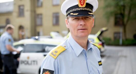 Tor Tanke Holm, fungerende rektor ved Politihøgskolen.