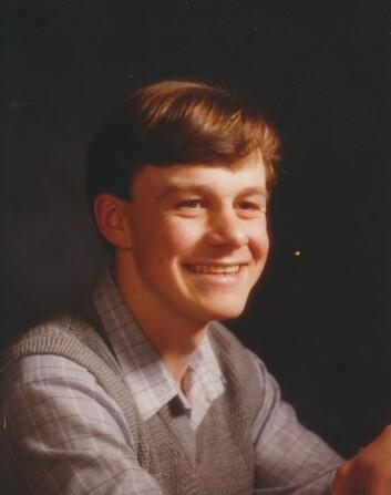 GLEDESSPREDER: Stian Elle som tenåring. – Han var en fin gutt, morsom og med herlig humor, sier klassekamerater.