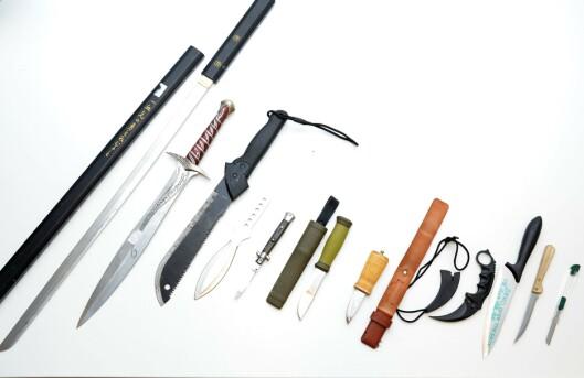 KNIVDIREKTIV: 8. april i år vedtok Oslo politidistrikt et eget knivdirektiv hvor de blant annet høynet bøtesatsene for å bære kniv på offentlig sted.