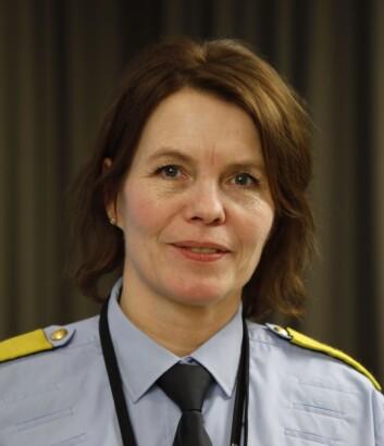 LEDER PROSJEKTET: Marit Fostervold, visepolitimester i Trøndelag politidistrikt.