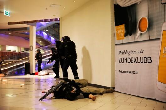 PLIVO: Politiet har uskadeliggjort gjerningspersonen.