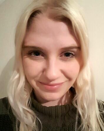 Anette Sand, styremedlem i PF-studentene