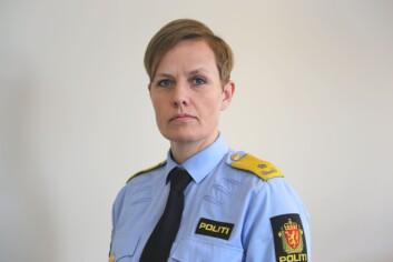 Seksjonssjef Elisabeth Rise i Politidirektoratet.