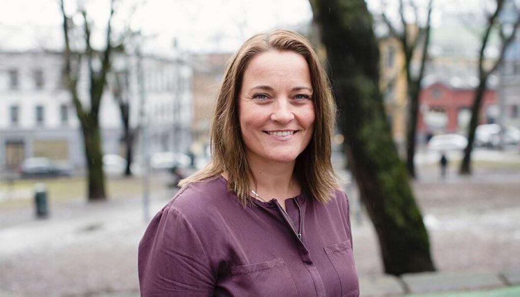 Unn Alma Skatvold, nestleder i Politiets Fellesforbund.