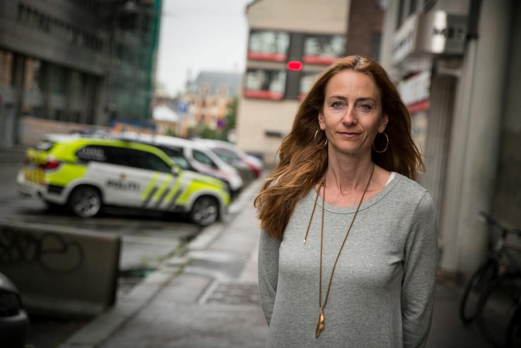 Leder i Oslo politiforening, Kristin Aga.