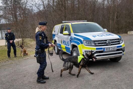 HUNDEBILER BYTTES UT: Til sammen 300 politibiler skal leveres.