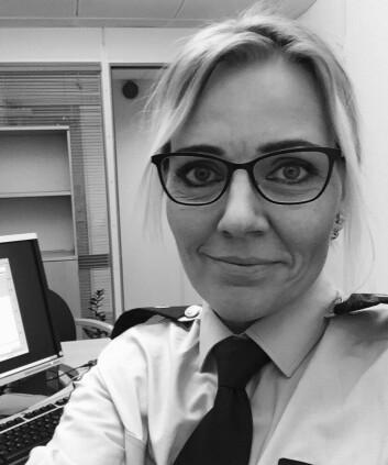 Nina Aleksandersen, leder i Likestilling og Mangfoldsutvalget i Politiets Fellesforbund.