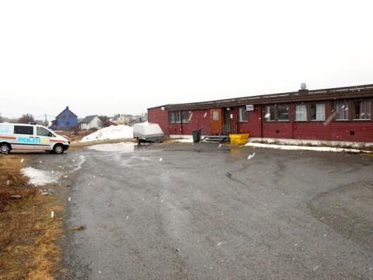 MUGGENT: Det gamle lensmannskontoret var fylt av råte og sopp.