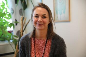 Andrea Mandt, sekretær i Oslo politiforening.