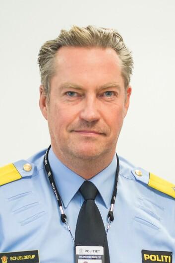 Seksjonssjef Jørn Schelderup i Politidirektoratet.