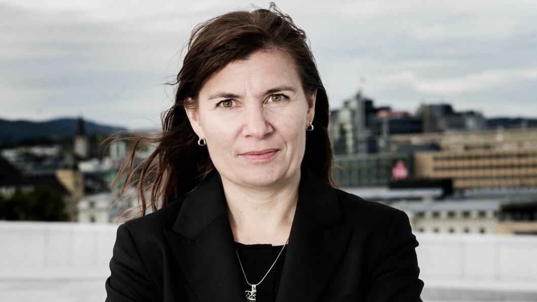 Ellen Katrine Hætta, politimester i Finnmark.