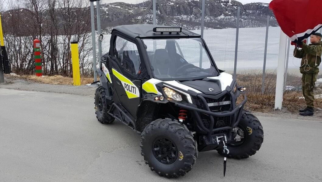 Finnmark politidistrikts nye UTV skal patruljere grenseområdene mot Russland og Finland i sommerhalvåret.
