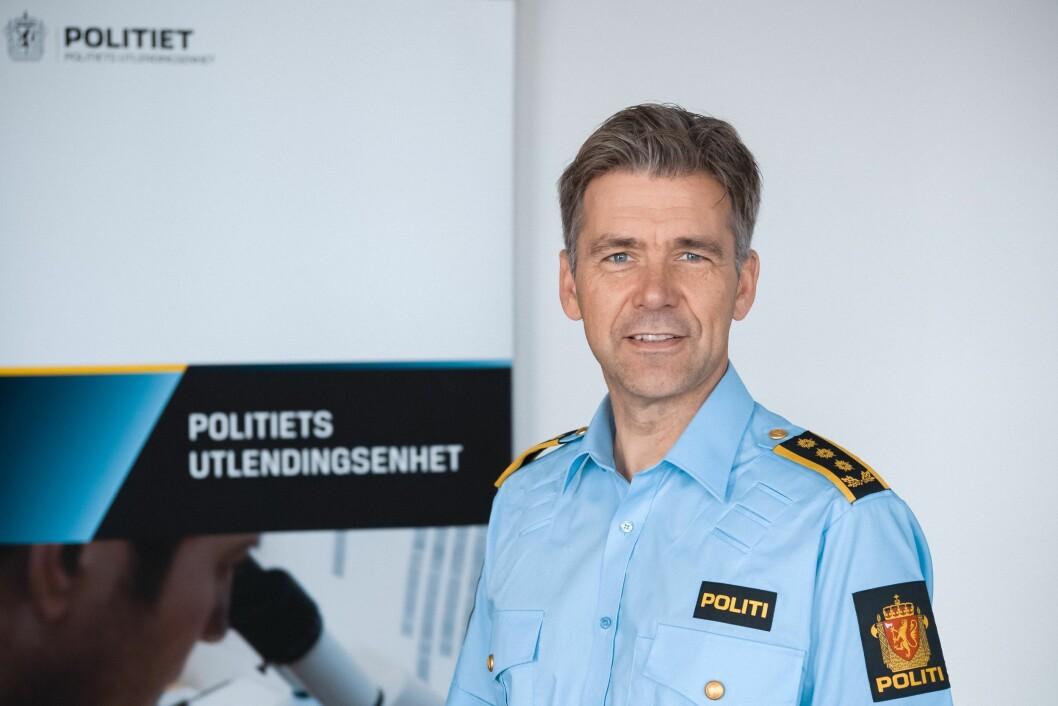 Morten Hojem Ervik, sjef for Politiets Utlendingsenhet.
