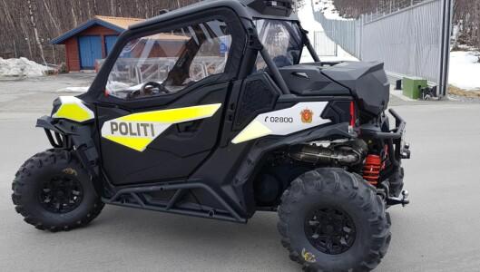 Finnmark politidistrikts nye UTV.