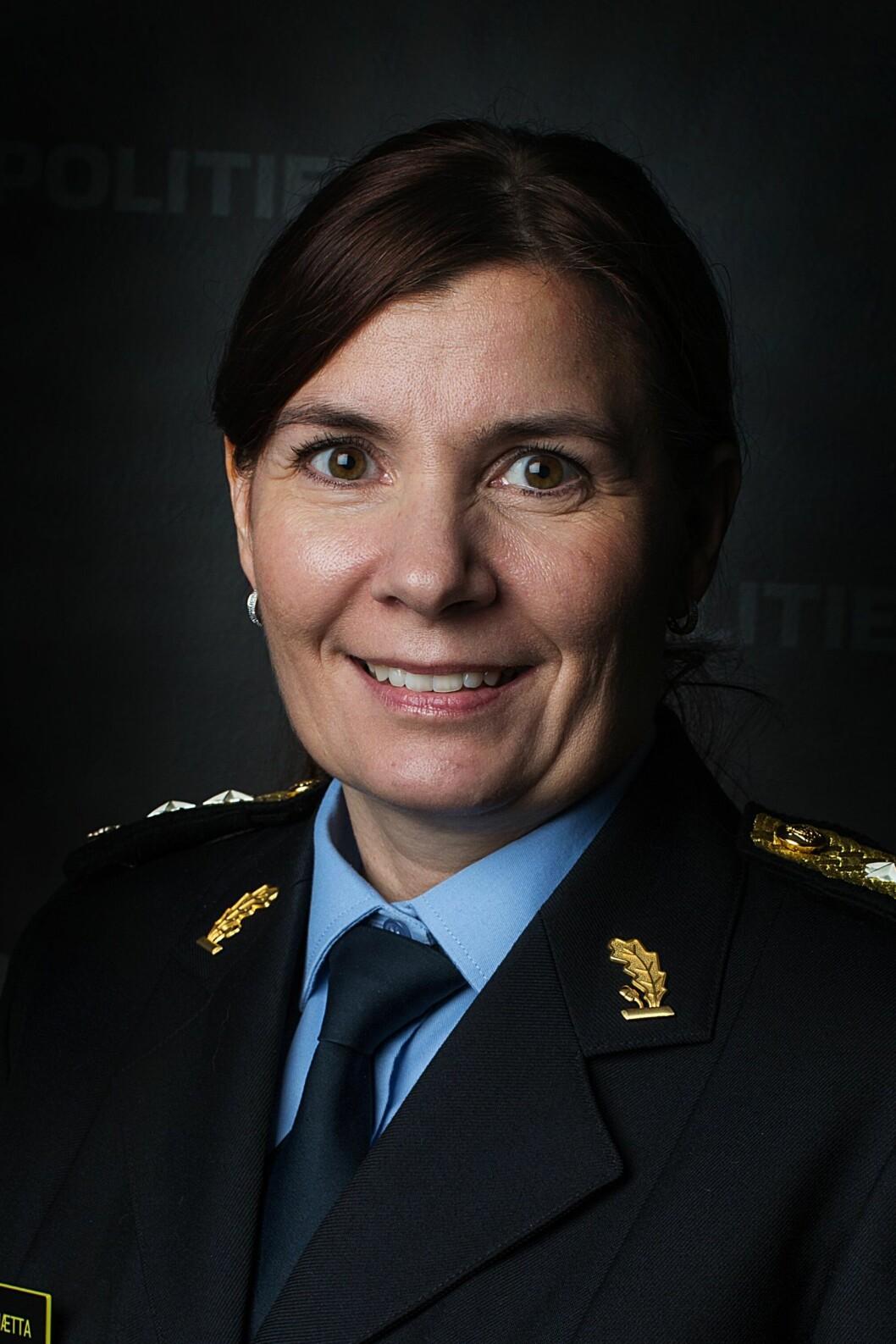 Politimester Ellen Katrine Hætta, Finnmark politidistrikt.