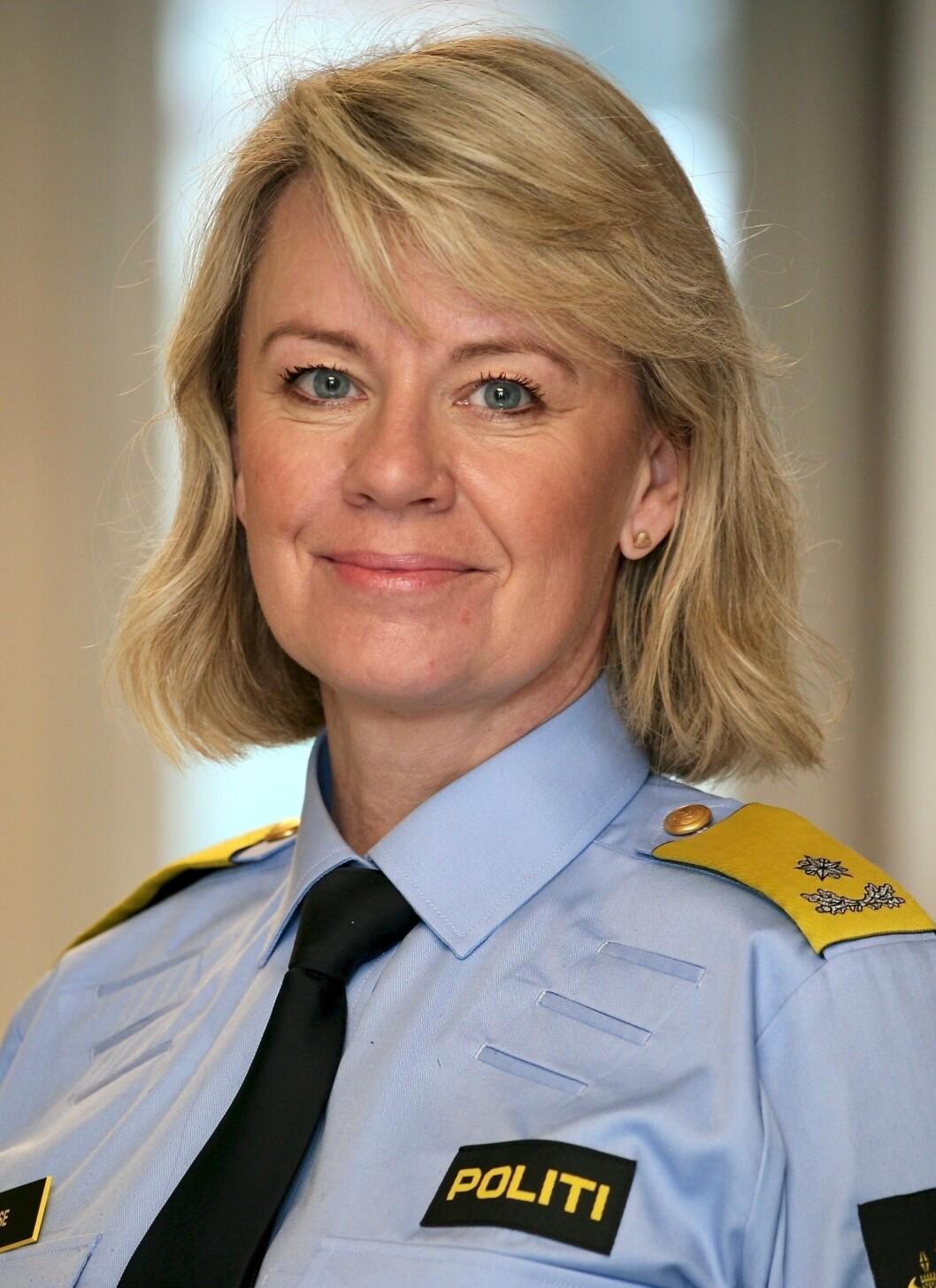 Ida Melbo Øystese, visepolitimester i Vest PD.