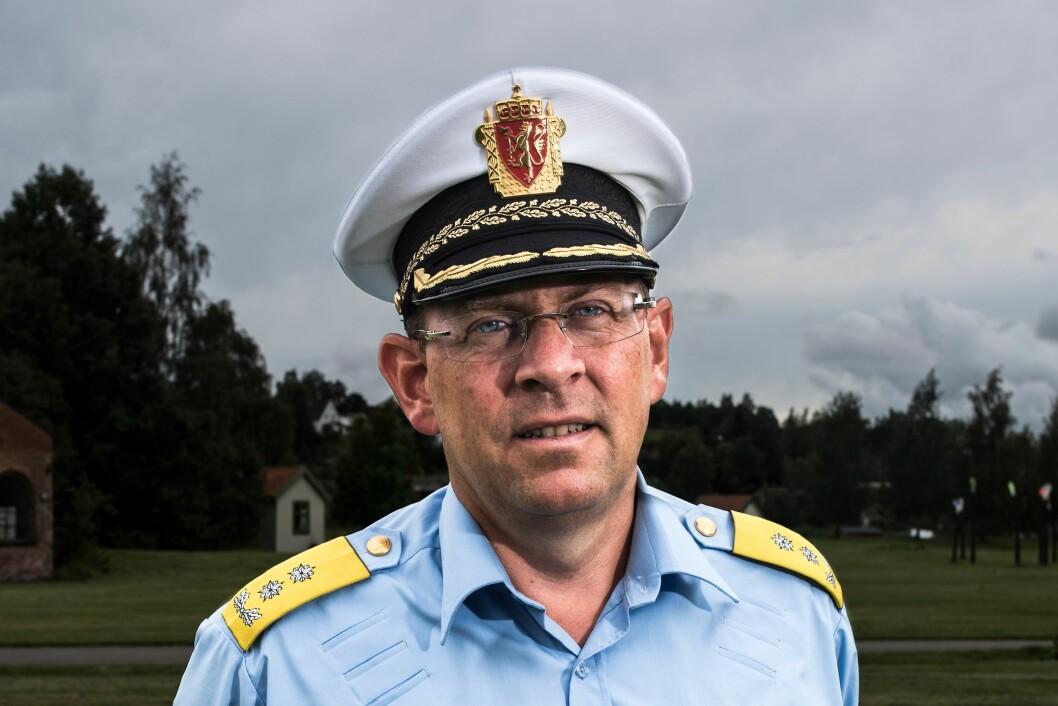 Visepolitimester Bjørn Vandvik rykker opp som politimester i Oslo fra 1. juni - men foreløpig kun midlertidig.