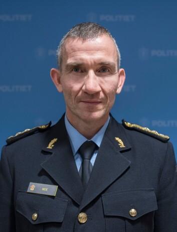 Nils Kristian Moe, politimeste i Trøndelag politidistrikt.