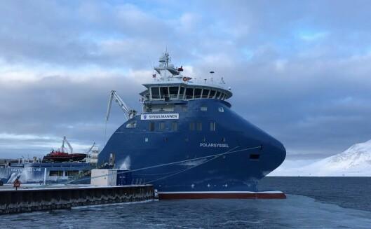 Sysselmannens fartøy «Polarsyssel».