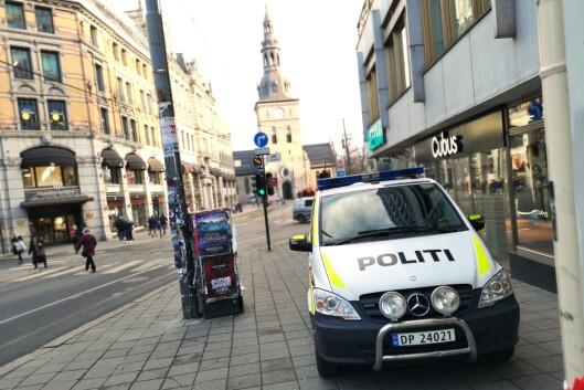 BIL ELLER POLITIBETJENT: Slik finansieringsordningen er i dag, må en politileder vurdere om man skal ansette en politibetjent eller kjøpe en ny bil, sier Sigve Bolstad.