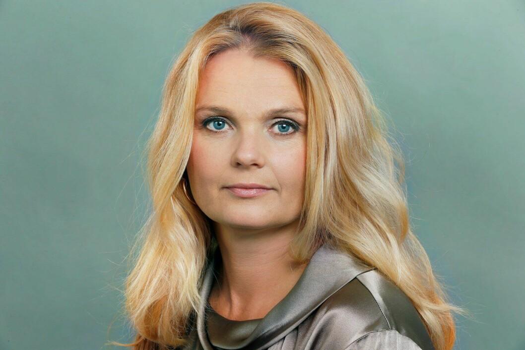 STARTER I POD: Hilde Ebeltoft-Skaugrud, ny kommunikasjonssjef i politidirektoratet.