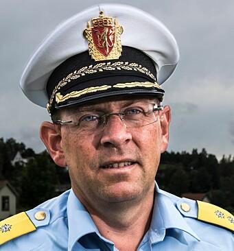 Bjørn Vandvik, konstituert som politimester i Oslo.