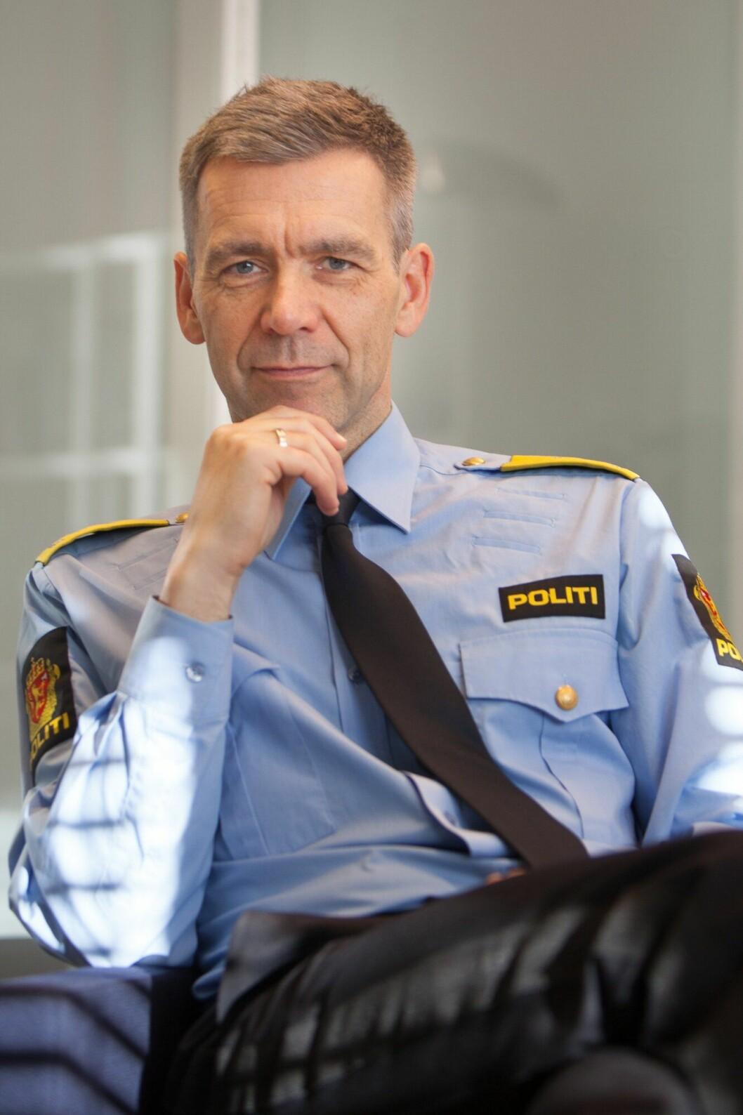 Morten Hojem Ervik i Politidirektoratet.