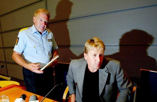 HJEMVENDT: Ola Thune (til høyre) ble hentet tilbake som leder for etterforskningsavdelingen i Kripos av daværende Kripos-sjef Arne Huuse i 2001. Da var det ni år siden Thune forlot Kripos for å starte som privatetterforsker. I 2005 forlot Thune Kripos på nytt, og vendte tilbake til sitt private virke.