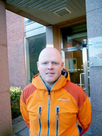 Per Otto Koksvik, tillitsvalgt i Politiets Fellesforbund.