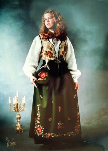 DREPT: Birgitte Tengs ble bare 17 år gammel. Den 6. mai 1997 ble hun funnet død noen hundre meter fra hjemmet.