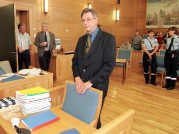 PROFILERT: Psykiateren Ulf Åsgård ble hentet inn i januar 1997 for å vurdere fetteren som en mulig gjerningsmann. På dette tidspunktet hadde Åsgård utarbeidet en rekke gjerningsmannsprofiler for svensk politi. Her fra ankesaken i lagmannsretten.