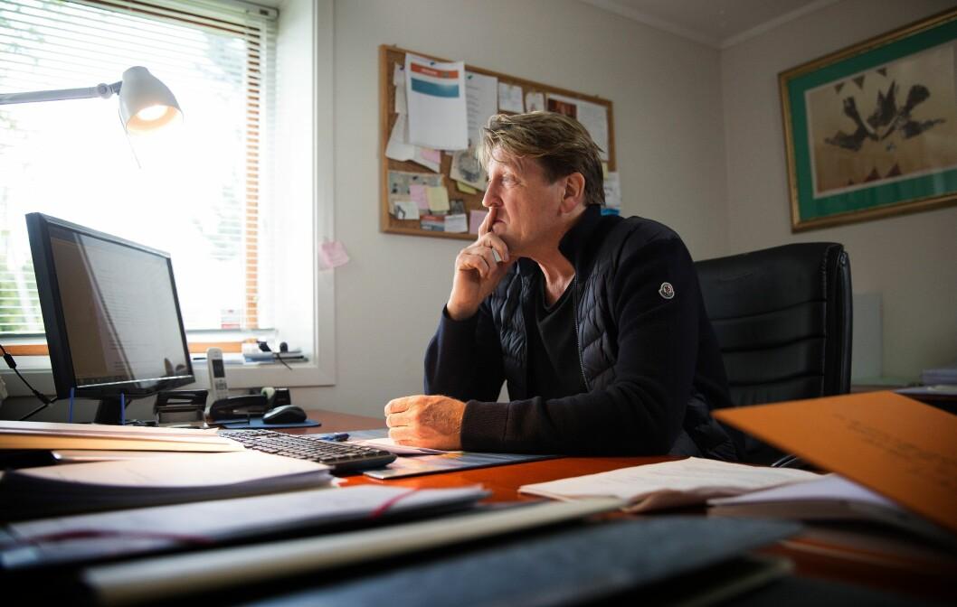 ANSVAR: Journalist og forfatter Bjørn Olav Jahr mener Ola Thune (avbildet), med sine uttalelser, pulveriserer ansvaret Kripos hadde for etterforskningen av drapet på Birgitte Tengs.
