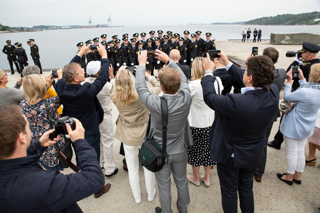 Avslutning for politistudentene i Stavern 2019, i Bølgen Kulturhus, Larvik.