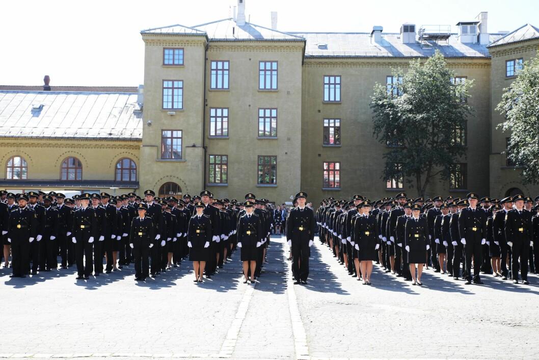 Politihøgskolens hovedsete i Oslo vil bli den minste av skolens avdelinger dersom regjeringens forslag til statsbudsjett blir vedtatt.