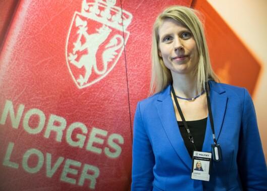 VURDERER: Politidirektoratet vurderer nå lovendringsforslaget innsendt av Oslo politidistrikt, sier seksjonssjef Kristine Langkaas i Juridisk stab.