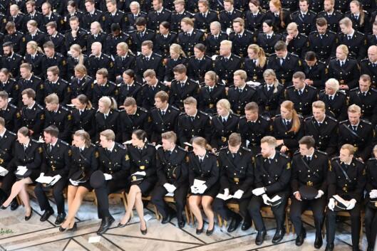 MANGE OM BEINET: 300-400 søkere til en politibetjentstilling er ikke uvanlig.
